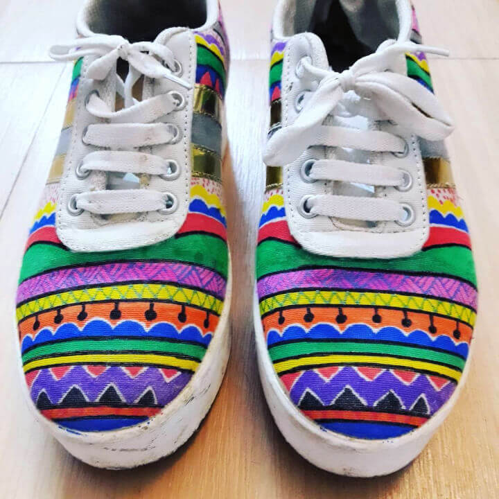 Shoe Painting Makeover