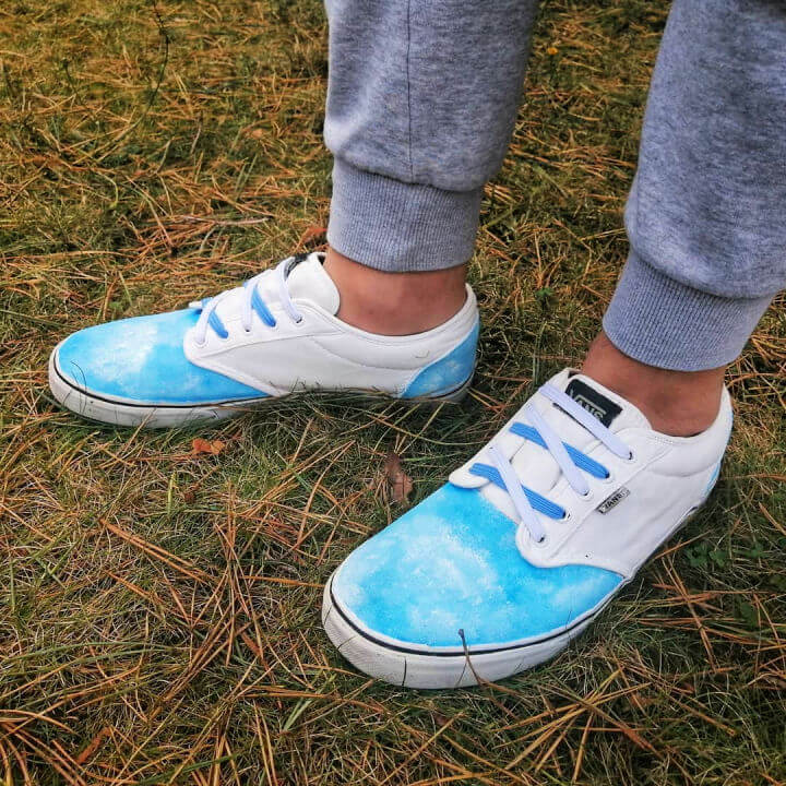 Sky Painting Shoes