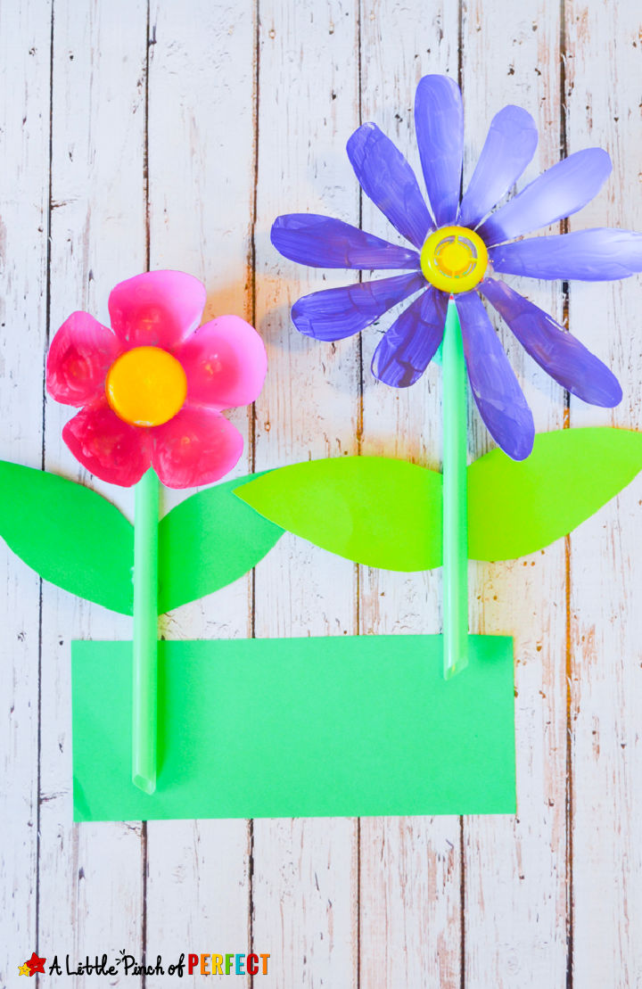 Soda Bottle Flower for Kids