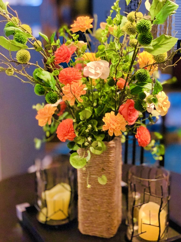 Sola Flower Arrangement and Rope