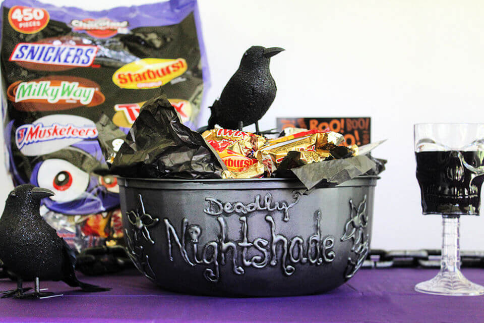 Spooky Witches Treat Bowl