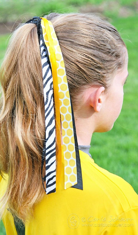 Style Softball Hair Bow