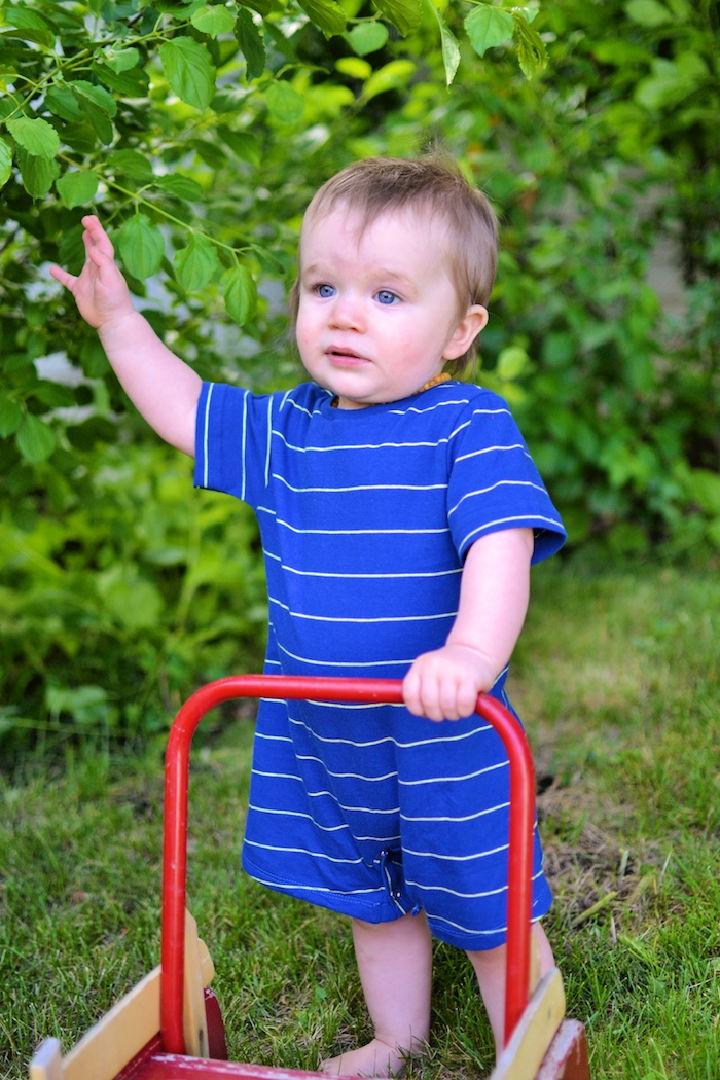 Summer Baby Romper Pattern