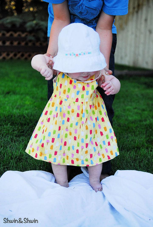 Summer Breeze Baby Dress