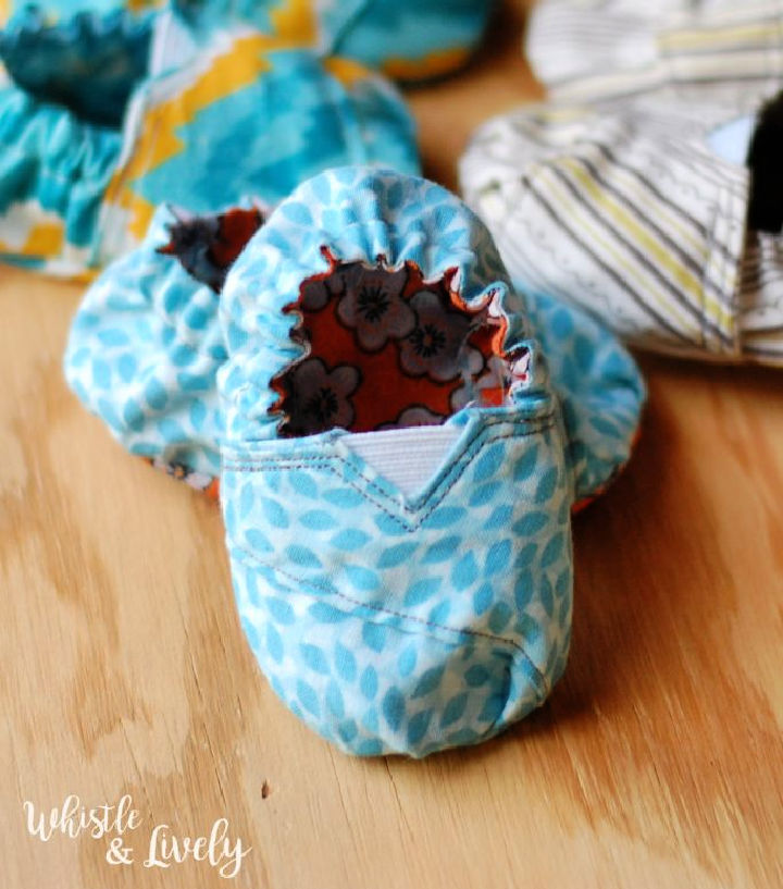 Toms Inspired Baby Shoes