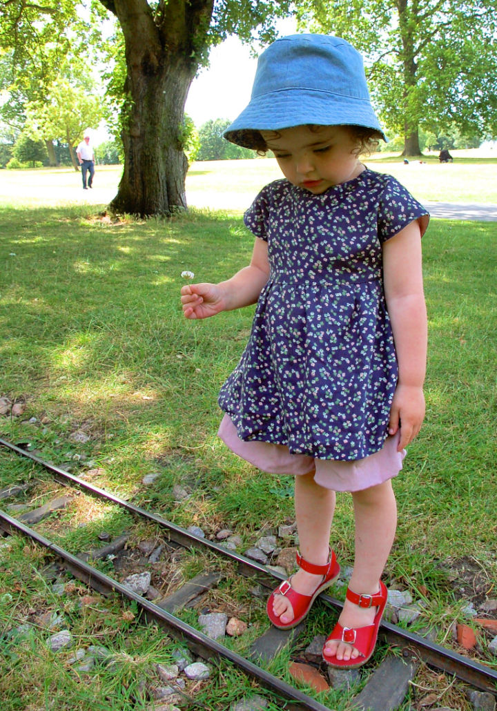 Tunic Dress for Baby Girl Pattern