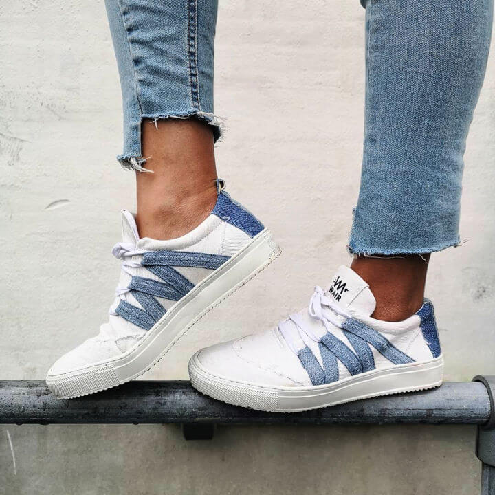 Upcycled Sustainable Sneakers
