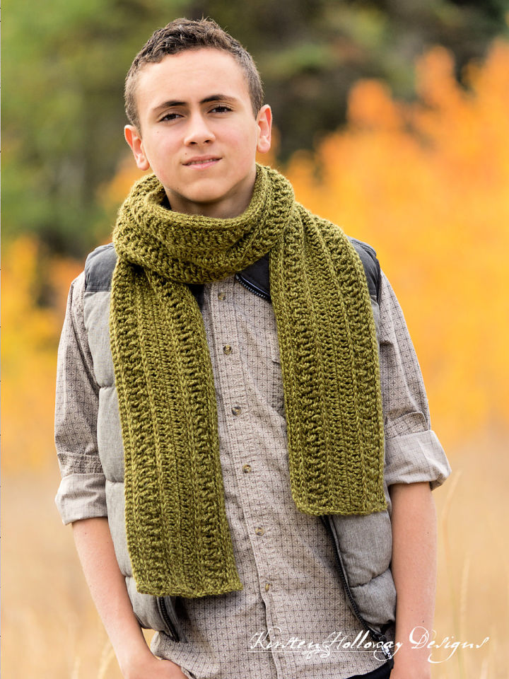 Wanderlust Scarf Crochet Pattern