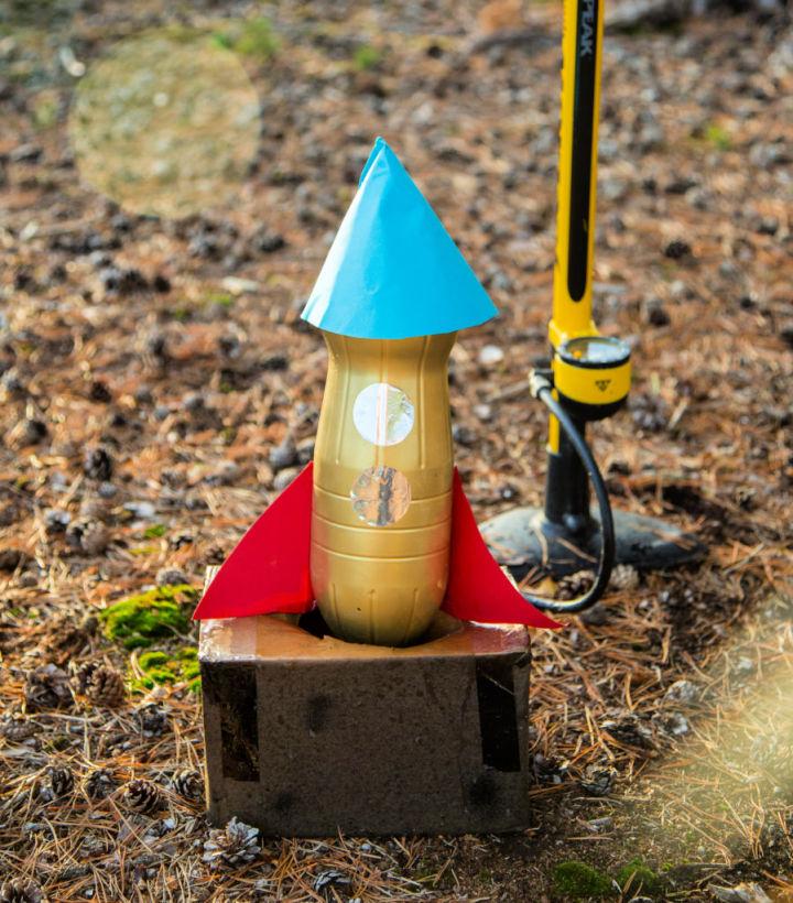 Water Plastic Bottle Rocket