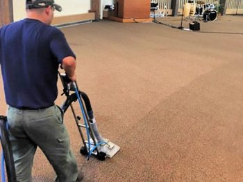 consider a professional carpet cleaning for your office