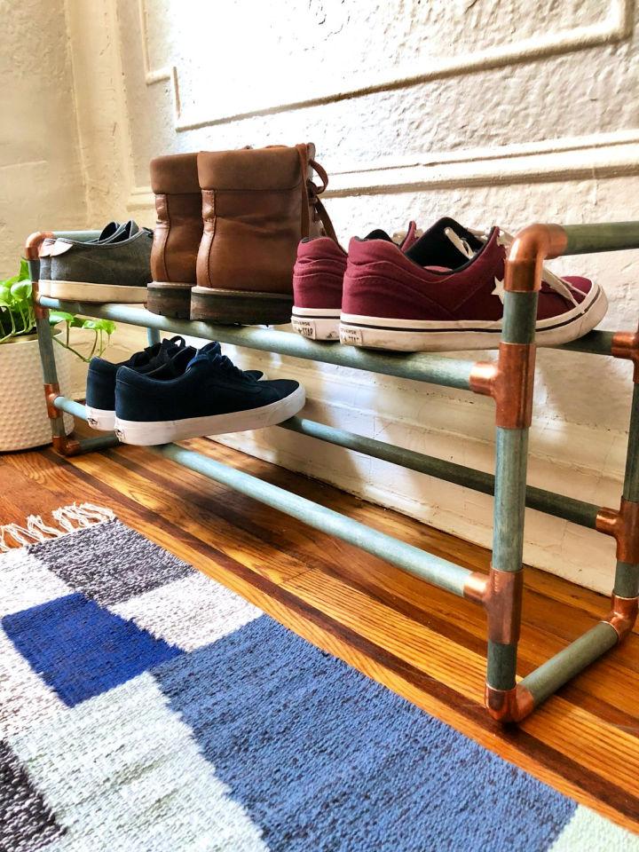 2 Tier Hallway Shoe Rack