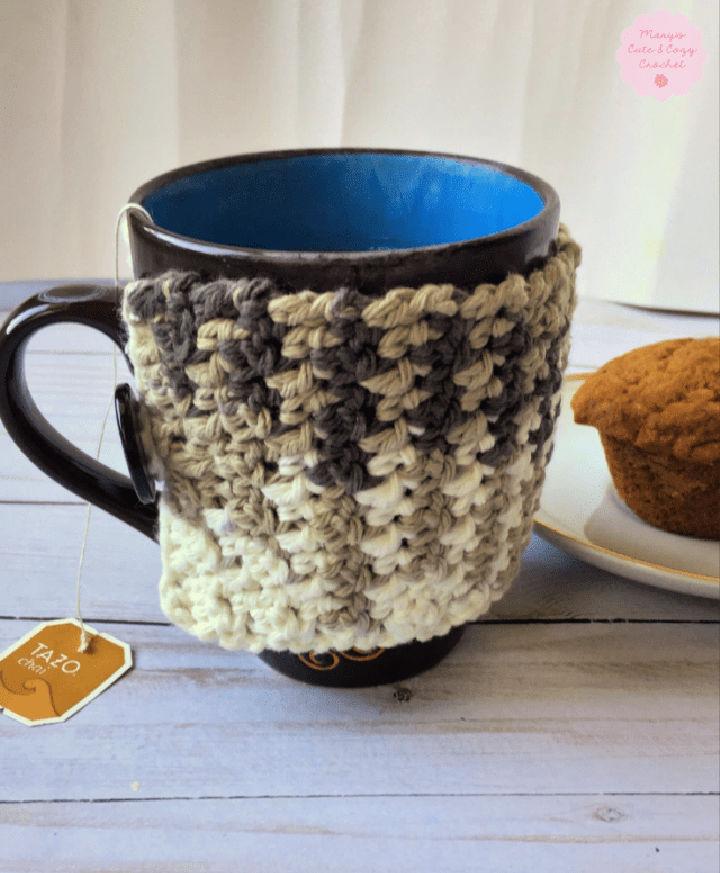Autumn Comfort Crochet Mug Cozy