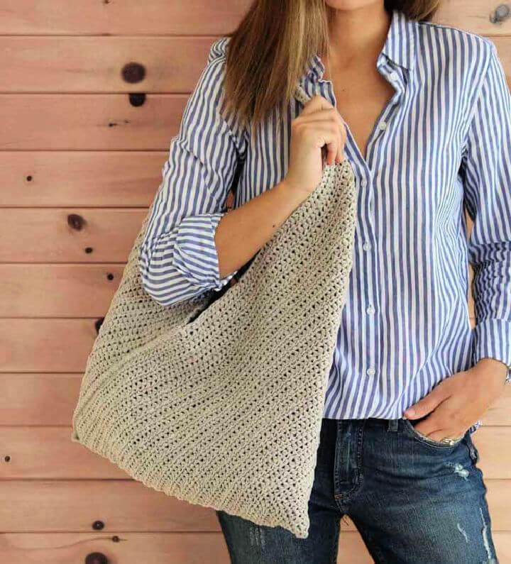 Beginner Crochet Tote Bag