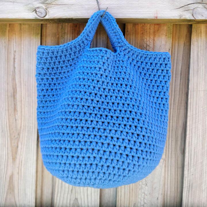 Bobby Bucket Bag Crochet Pattern