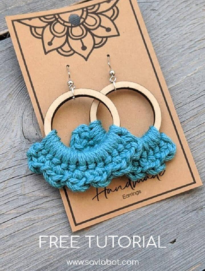 Boho Crochet Earrings