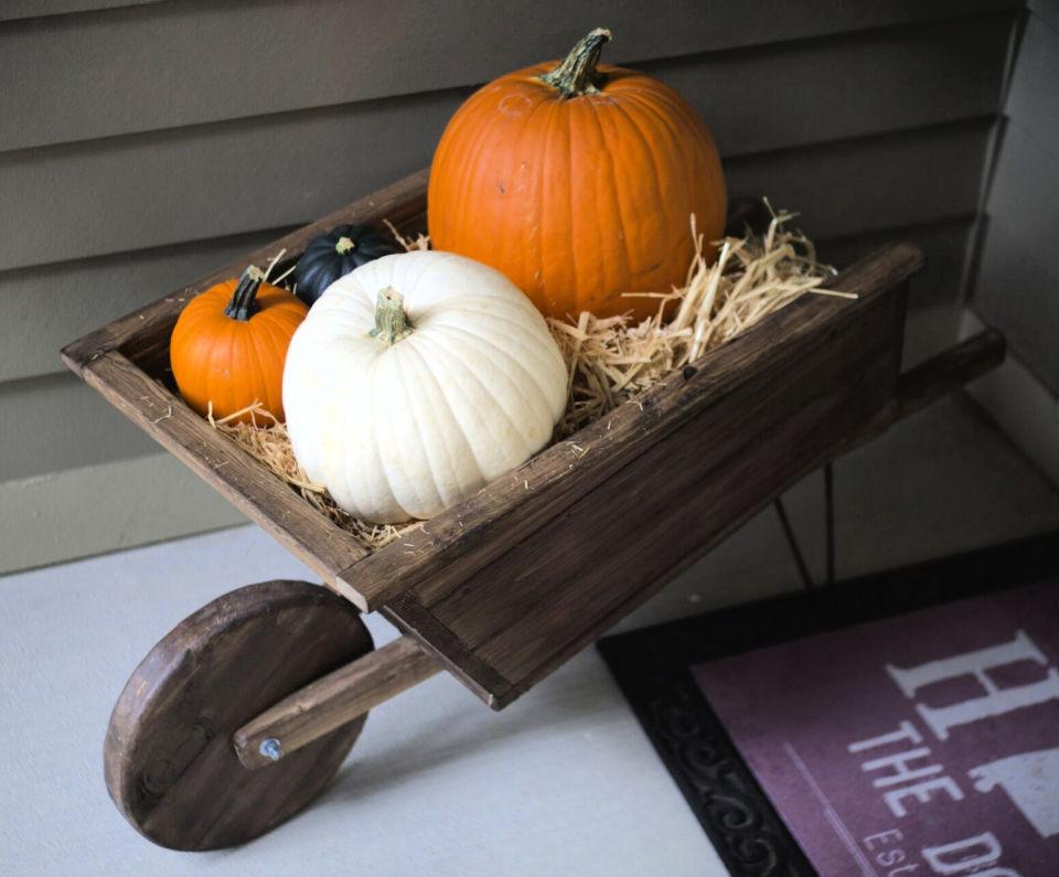 Build Your Own Decor Wheelbarrow
