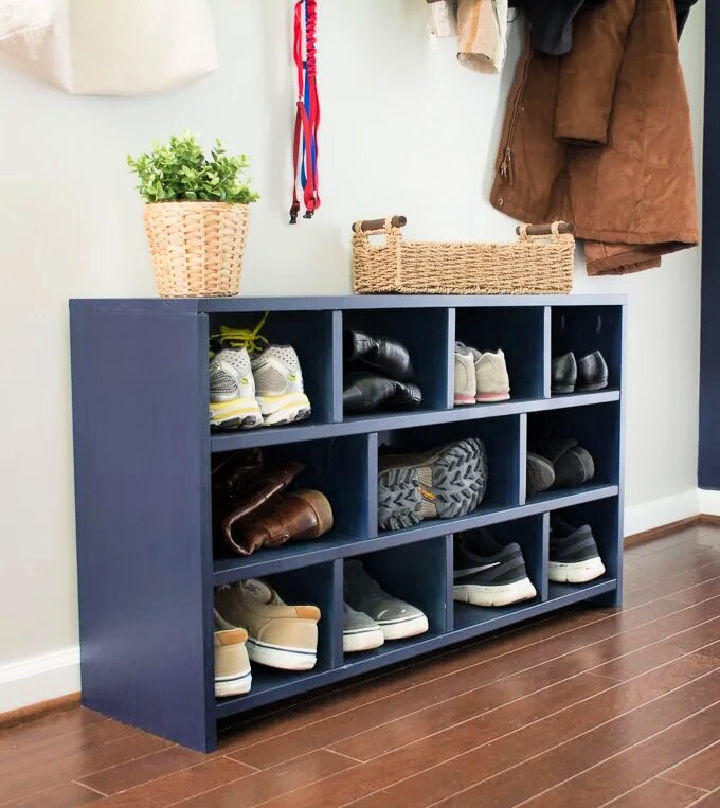 Build Your Own Shoe Cubby