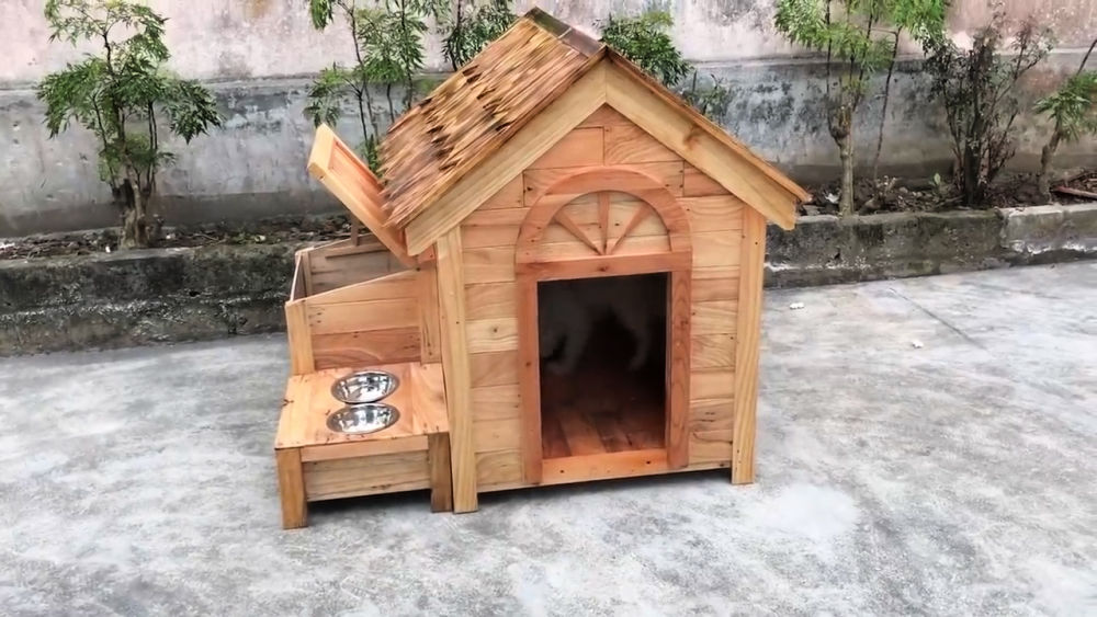 Build a Wooden House for Dog