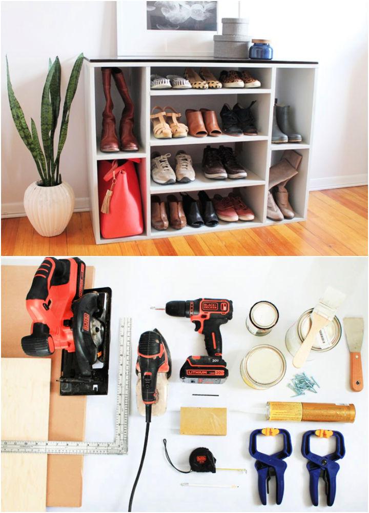 Building a Shoe Storage Unit