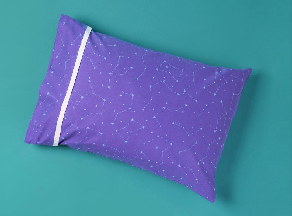 Burrito Style Pillowcase in 15 Minutes