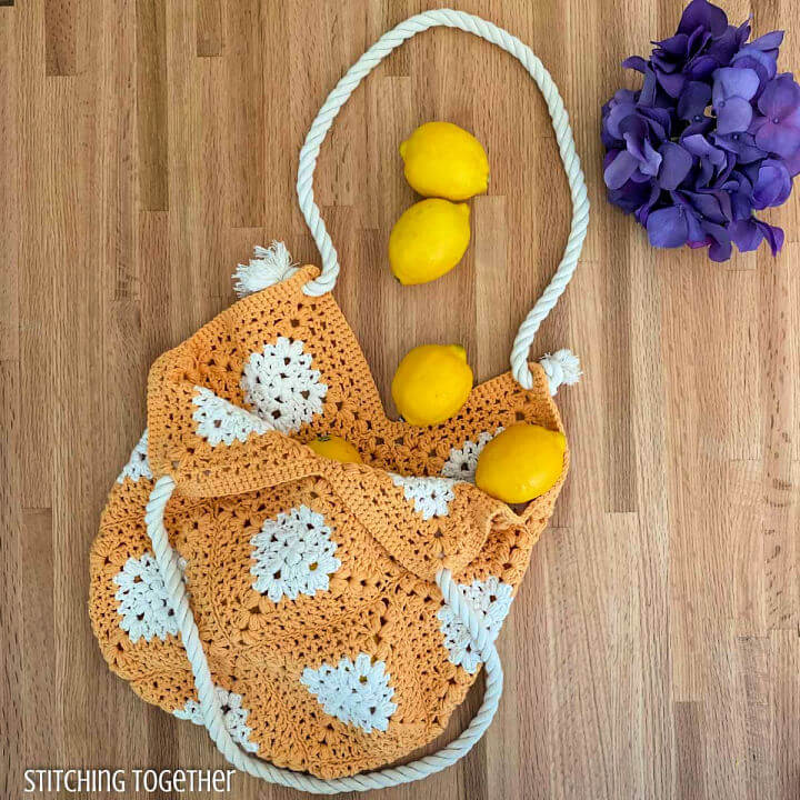 Caldwell Crochet Market Bag