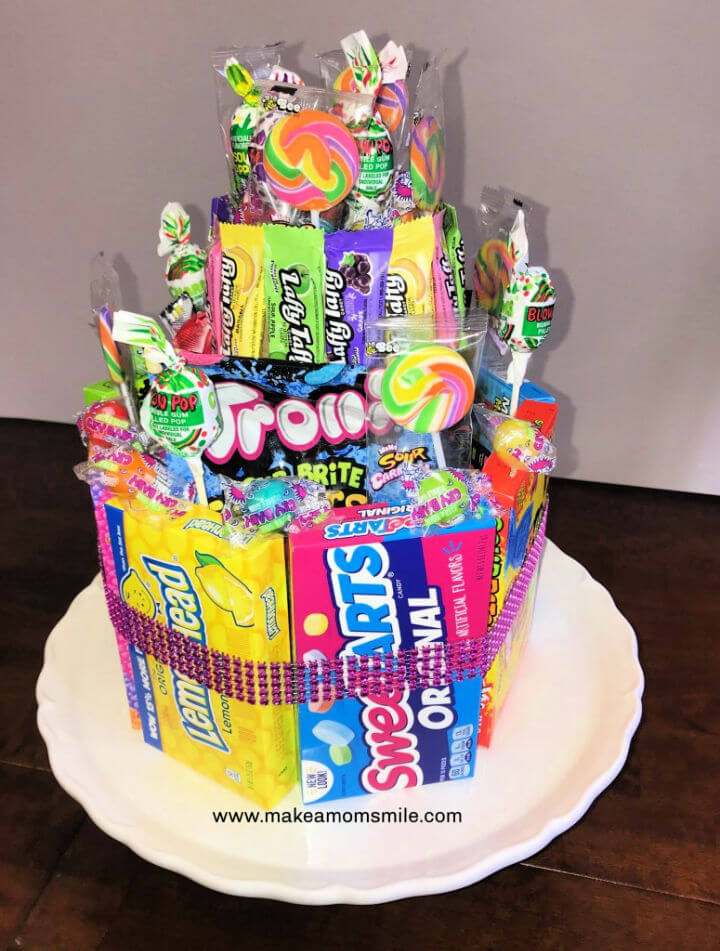 Candy Cake for Under 20