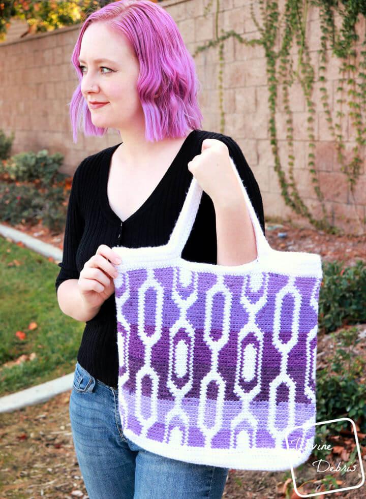 Cecelia Tapestry Bag Crochet Pattern