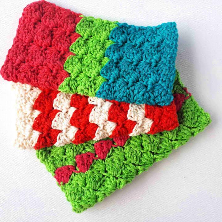 Cheery Crochet Dish Cloths
