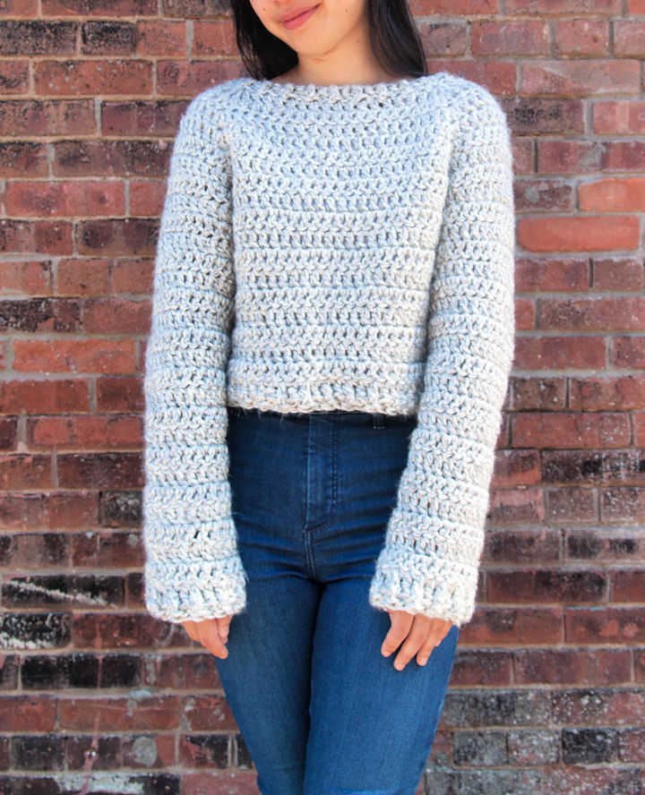 Chunky Crochet Sweater Pattern Free
