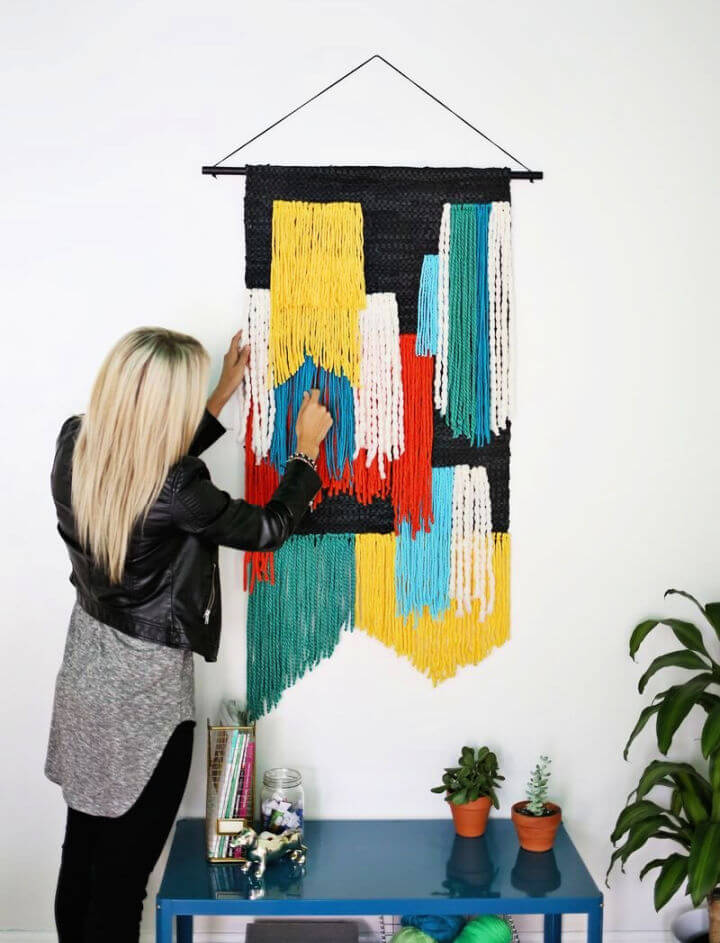 Colorful Tapestry Wall Hanging