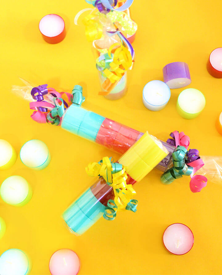 Colourful Candy Party Candles