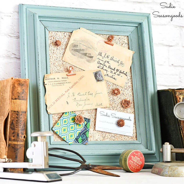 Cork Board from Picture Frame