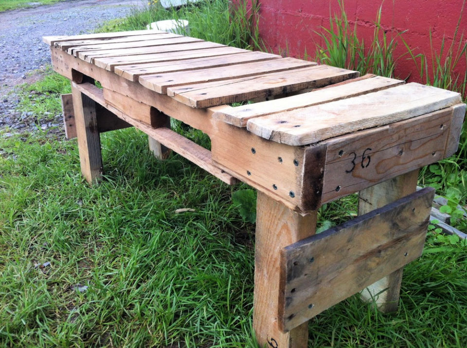 Create a Pallet Bench
