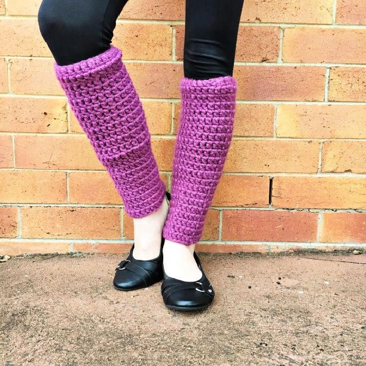 Crochet 80s Leg Warmers Pattern