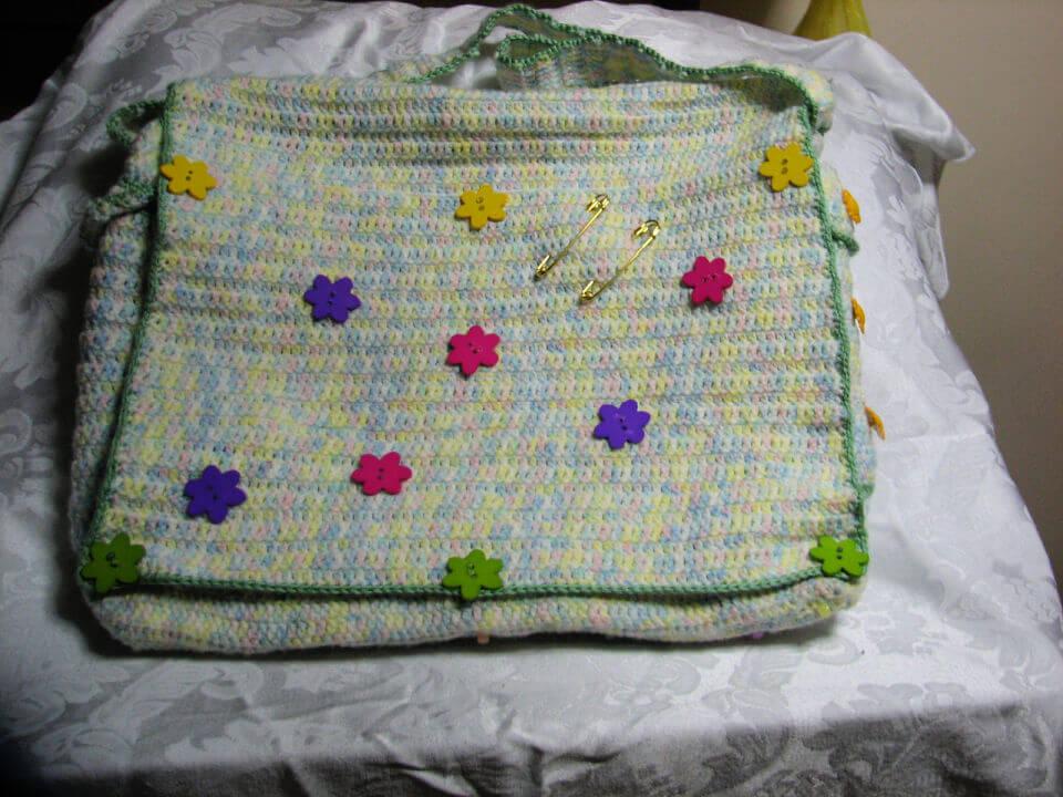 Crochet Baby Diaper Bag