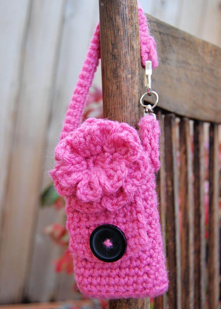 Crochet Cell Phone Case