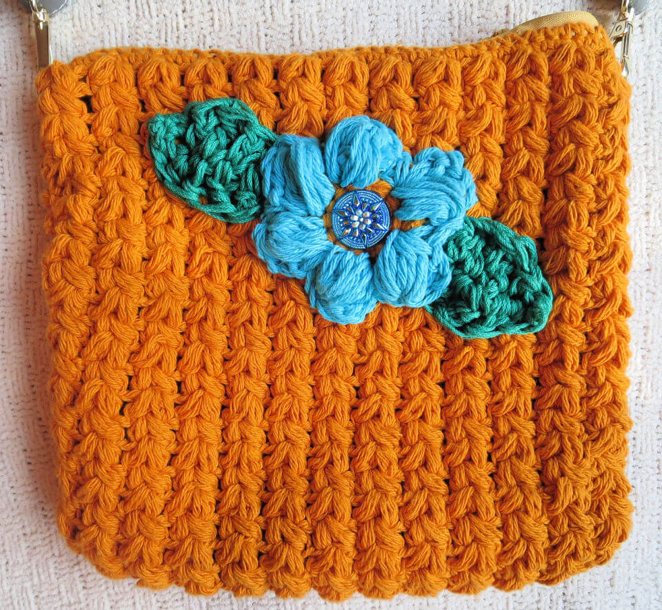 Crochet Cross Body Bag
