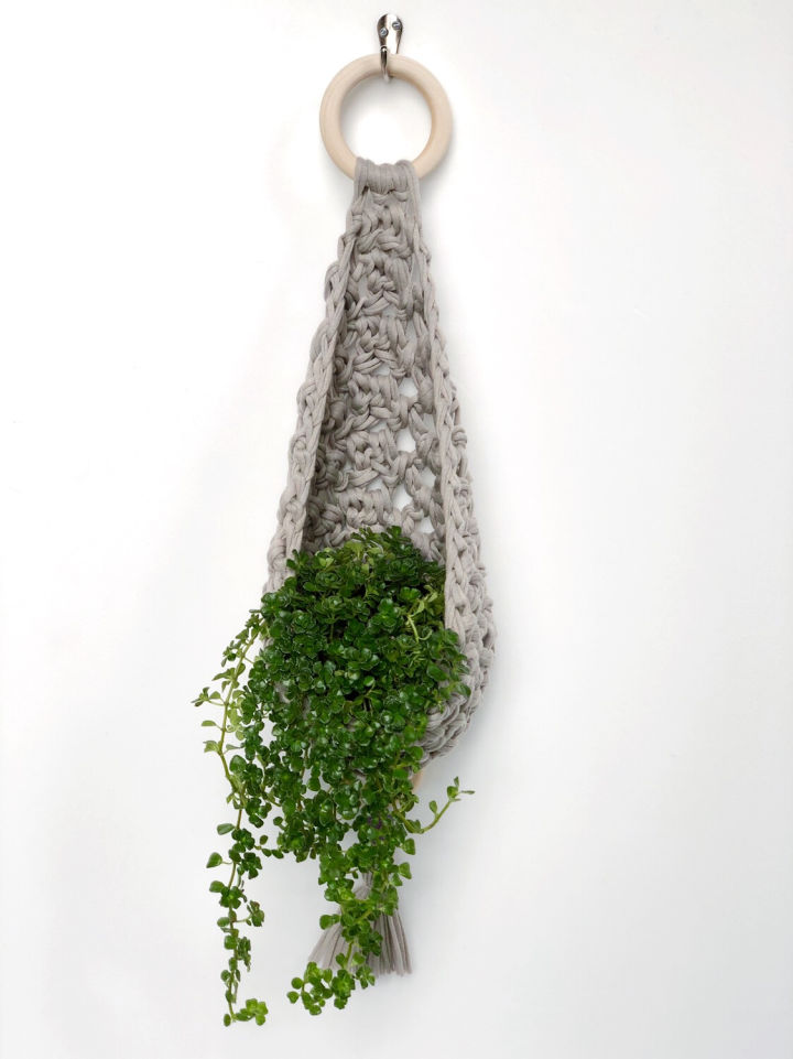 Crochet Decorative Plant Hanger