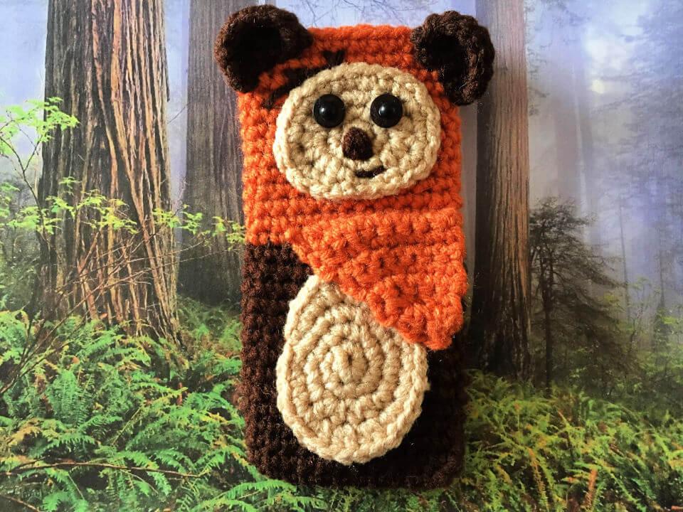 Crochet Ewok Cell Phone Case