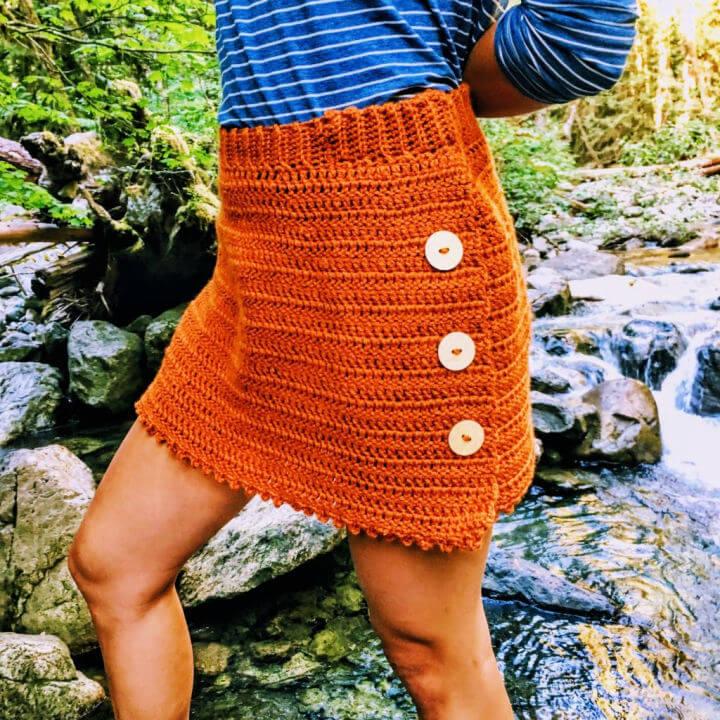 Crochet Frances Skirt for Sale