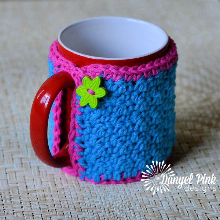 Crochet Grandma Maes Mug Cozy