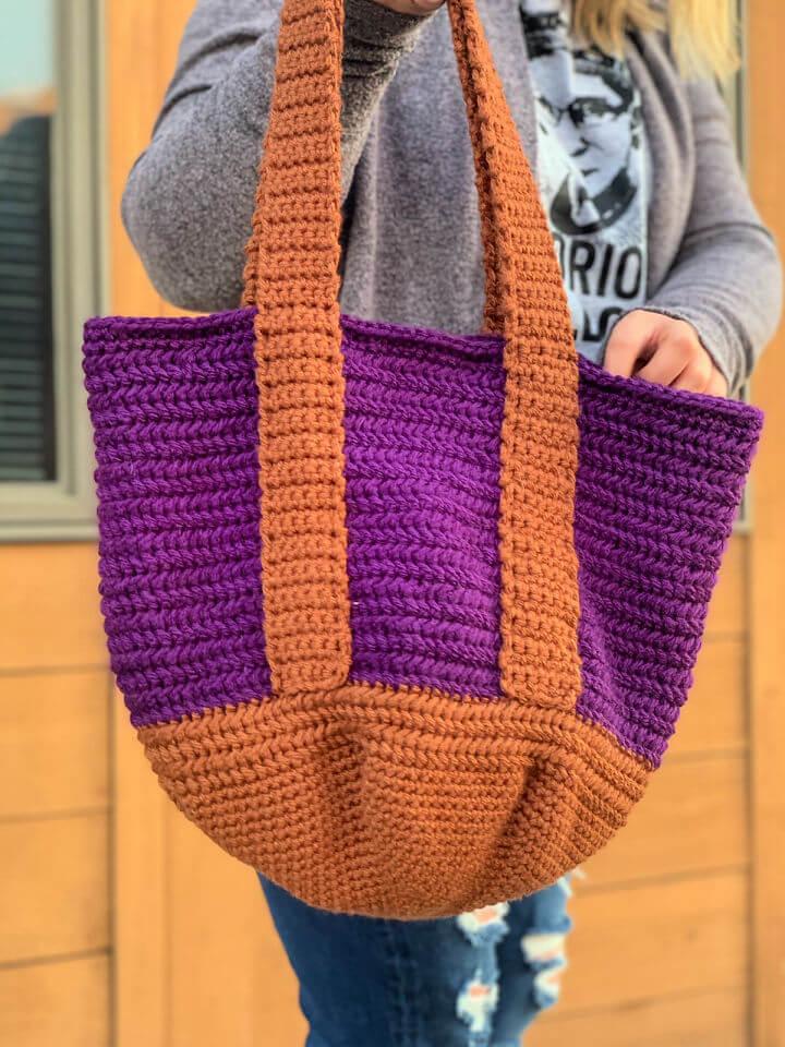 Crochet Henrietta Tote Bag