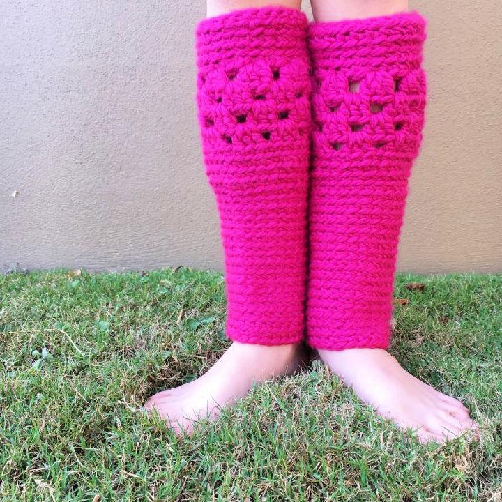 Crochet Leg Warmers Pattern