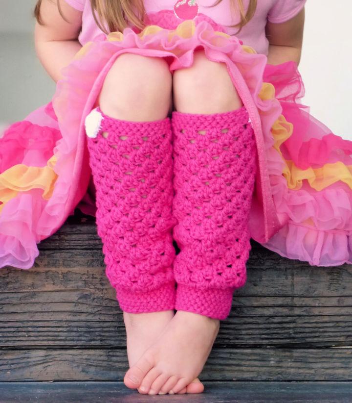 Crochet Little Girly Leg Warmers