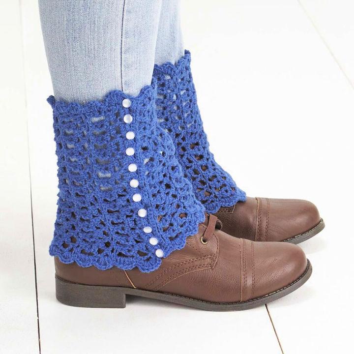 Crochet Little Leg Warmers Pattern
