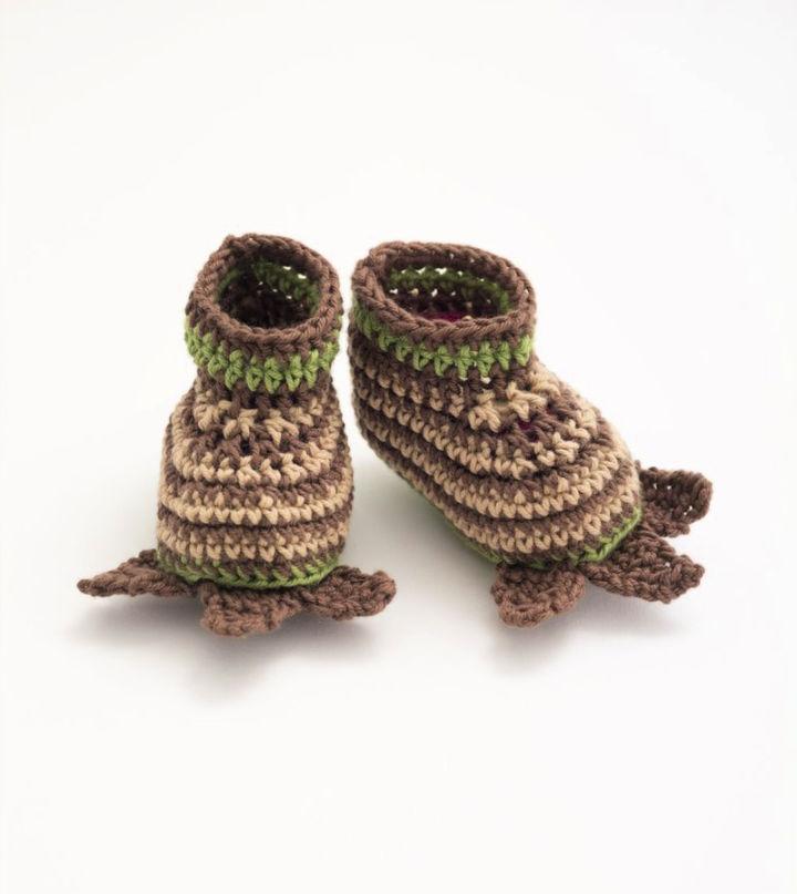 Crochet Little Monster Booties