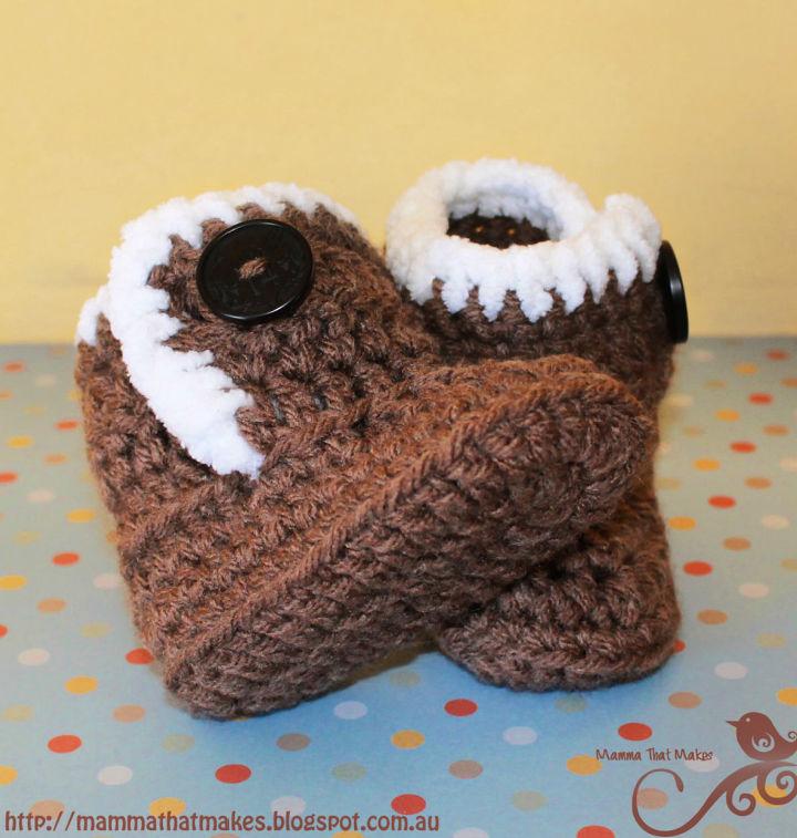 Crochet Little Uggiebooties Pattern