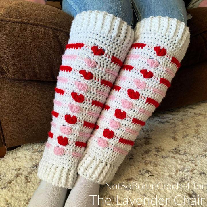 Crochet Love Me Tender Leg Warmers