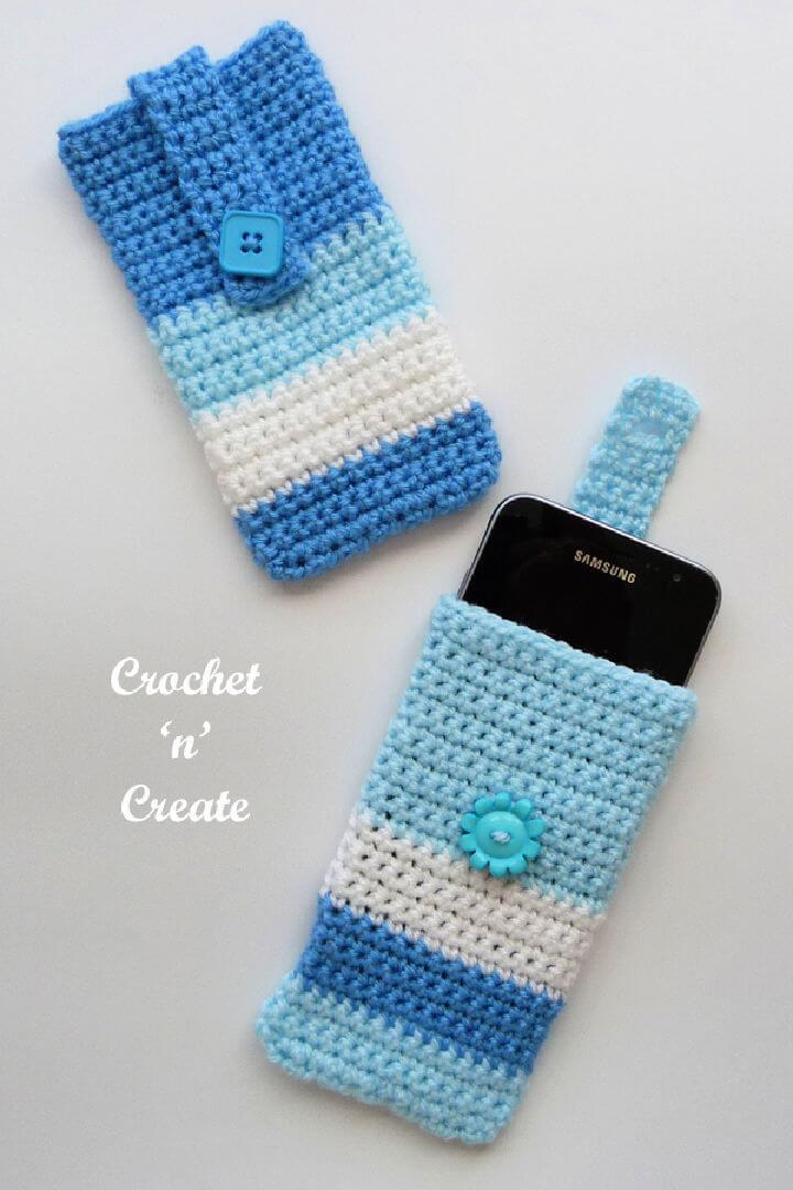 Crochet Mobile Phone Cover Pattern