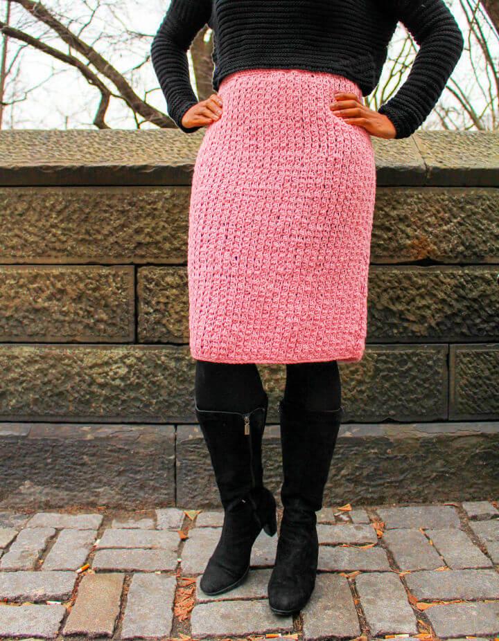 Crochet Modern Melissa Skirt